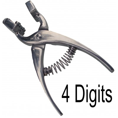 Tattoo plier with four Digits